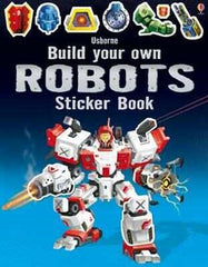 Usborne - Build Your Own Robots - Sticker Book