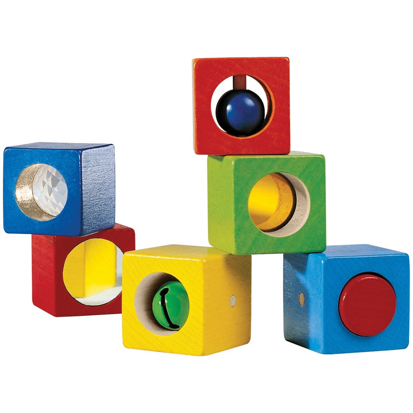 HABA - Discovery Blocks - Wooden - Set of 6
