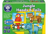 ORCHARD TOYS Jungle Heads & Tails