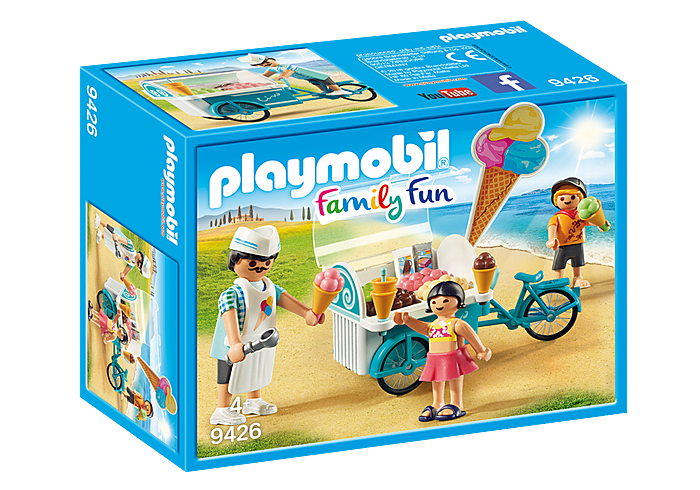 PLAYMOBIL Family Fun - Ice Cream Cart - 9426