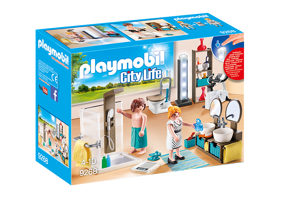 PLAYMOBIL City Life - Modern Bathroom