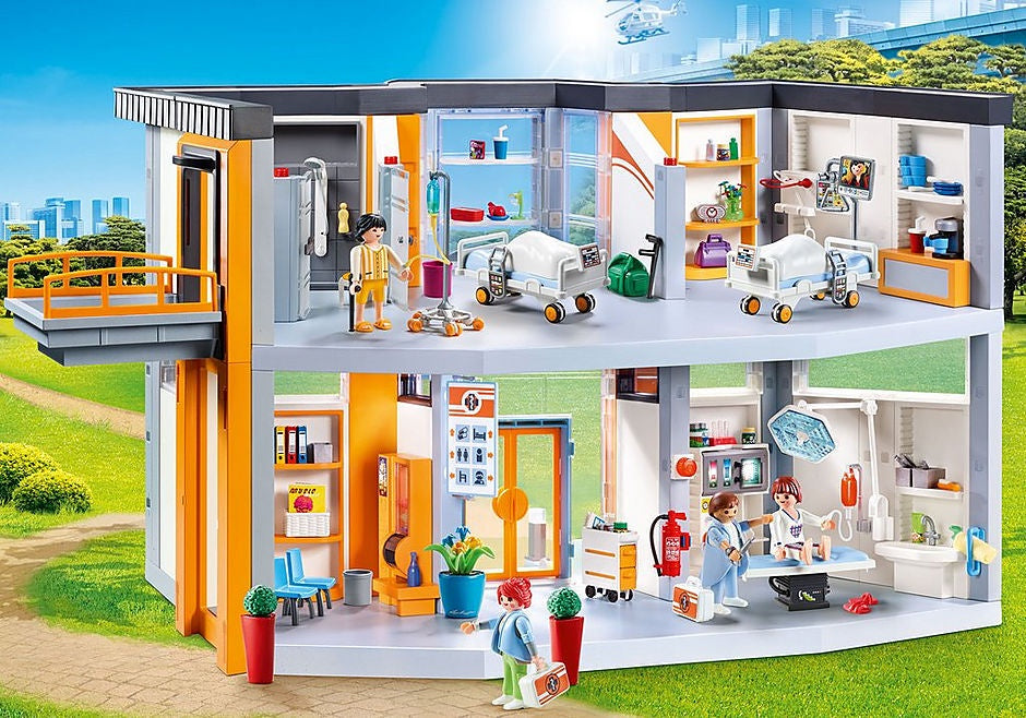 PLAYMOBIL - City Life Medical - Hospital Large  - 70190