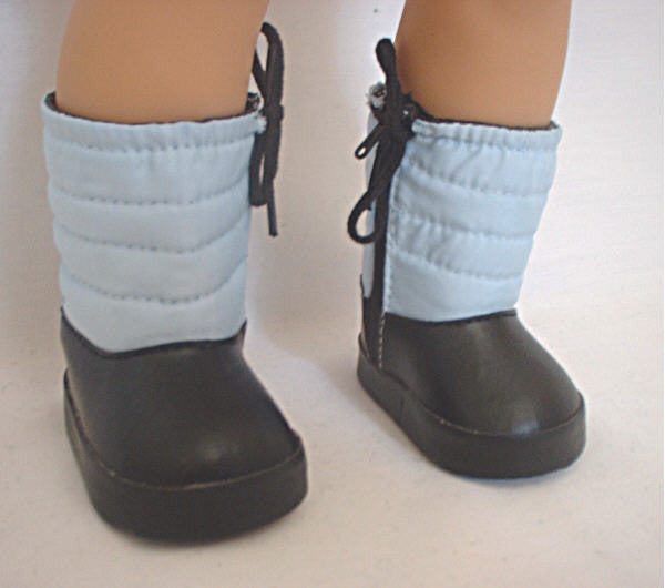 DRESS MY DOLL Blue Snow Boots