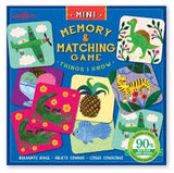 EEBOO Mini Memory Matching Game - Things I Know