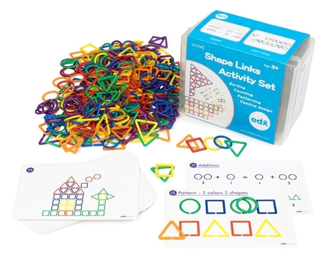 EDX Education - Shape Links Activity Set - 14124C