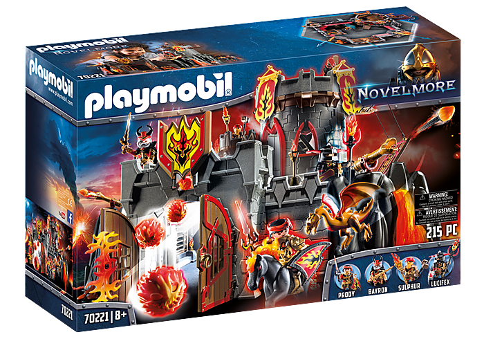 PLAYMOBIL Burnham Raiders - Fortress - 70221