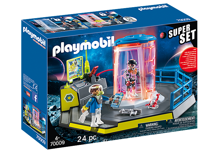 PLAYMOBIL SuperSet -  Galaxy Police Rangers - 70009