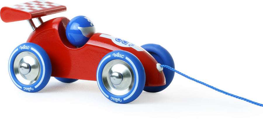 Vilac - Red Wooden Racing Car