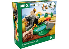 BRIO Set - Safari Adventure Set, 26 pieces - 33960