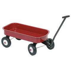 GOKI - Metal Wagon - Pull-Along - Red