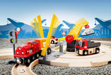 BRIO Train Set - Rail & Road Crane 33208