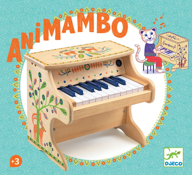 DJECO Animambo Music -  Electronic 18Key Piano
