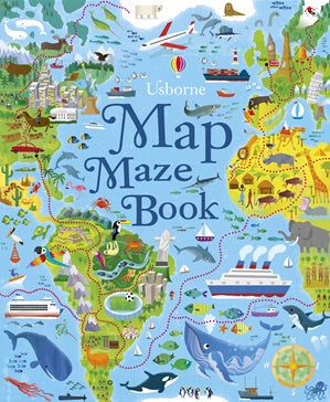 Map Mazes - Activity Book