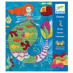 DJECO Embroidery Straight Stitch Mermaid