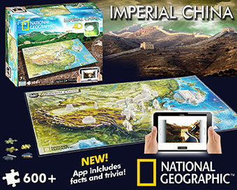 4D National Geographic - ANCIENT Imperial China Puzzle