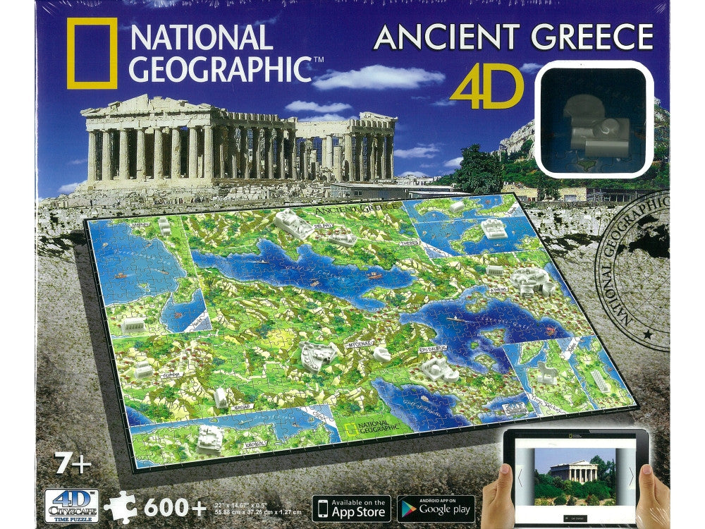 4D National Geographic ANCIENT Greece Puzzle