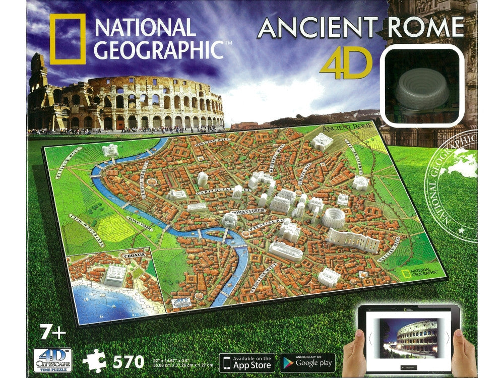 4D National Geographic ANCIENT Rome Puzzle