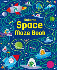 Space Maze Book - Paperback
