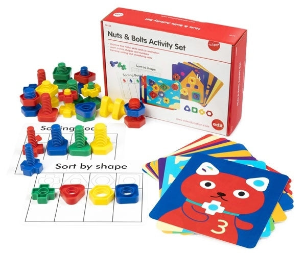 EDX Education - Nuts & Bolts Activity Set - 50158