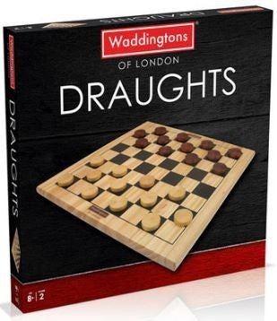 Waddingtons of London Wooden Draughts