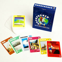 Backpacker Card Game -  Ultimate Travel Game