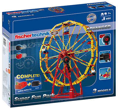 Fischertechnik Advanced Super Fun Park - 508775