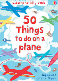 50 Things to do on a Plane -  Cards