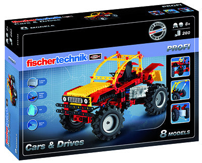 Fischertechnik PROFI Cars & Drives - 516184