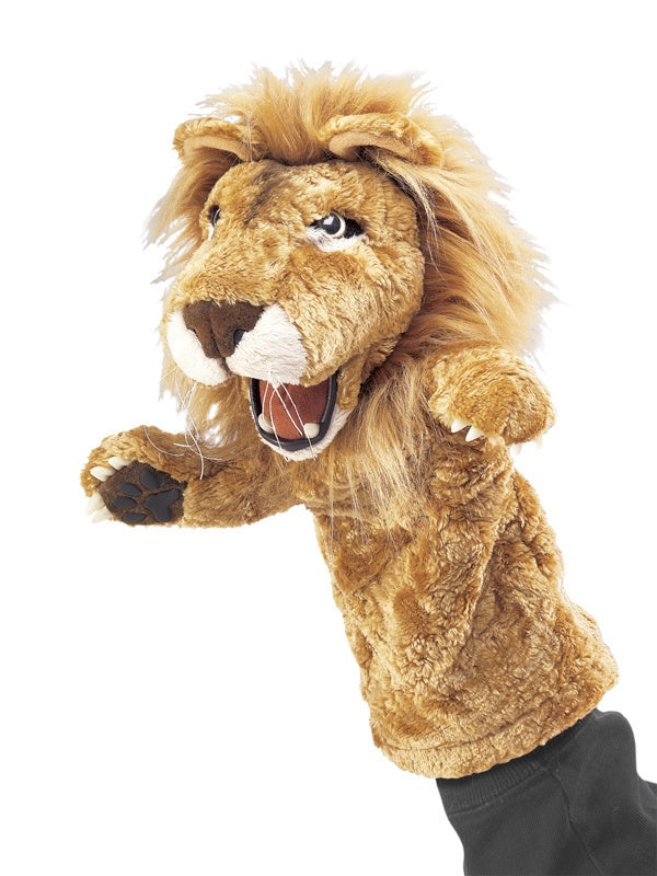 FOLKMANIS STAGE PUPPET - Lion Stage Puppet