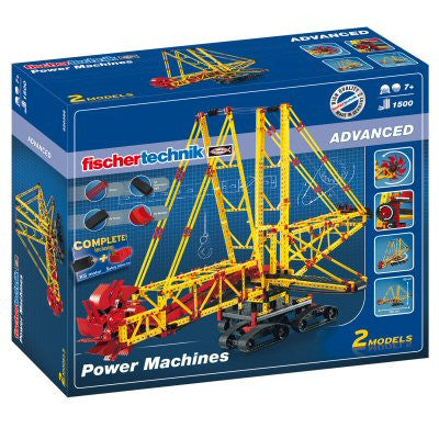Fischertechnik Advanced Power Machines - 520398