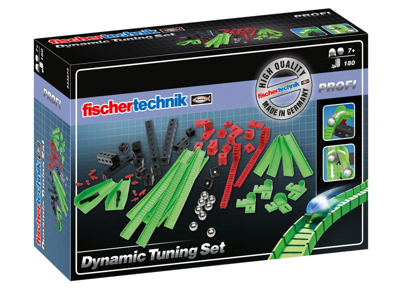 Fischertechnik PROFI Dynamic Tuning Set - Marble Run - 533873