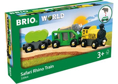 BRIO Train - Safari Train -  4 pieces - 33964