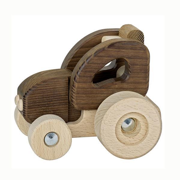 GOKI Nature - Tractor Small - Wooden