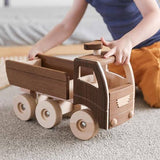 GOKI Nature Dump Truck Large - Wooden