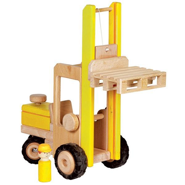 GOKI Vehicle - Forklift Large - Wooden