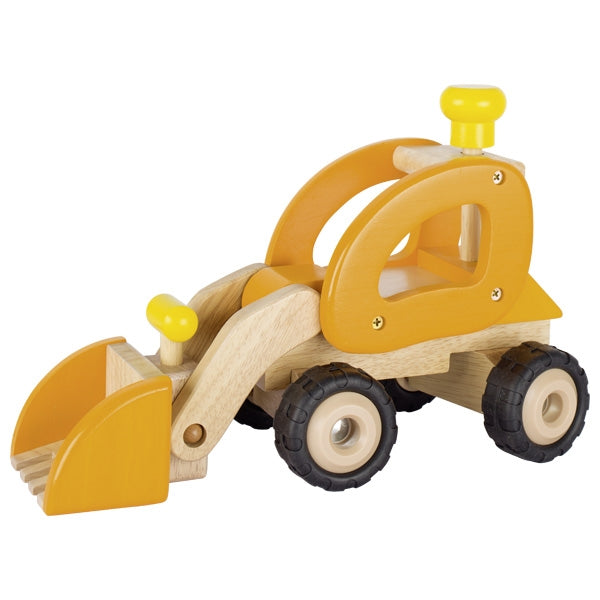GOKI Vehicle - Wheel Loader Large- Wooden