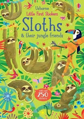 Little First Stickers Sloths - Sticker Book