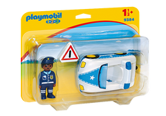 PLAYMOBIL 123 - Police Car - 9384
