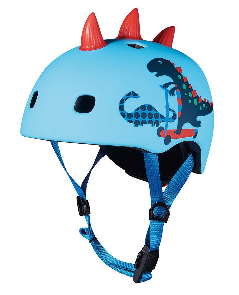 MICRO Kids Pattern Helmet - 3D Scootersaurus - Medium