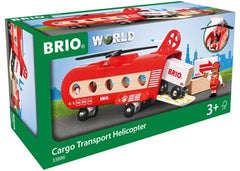 BRIO Vehicle - Cargo Transport Helicopter - 8 piece - 33886
