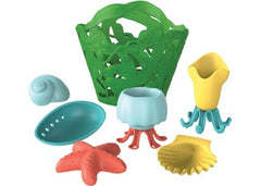 GREEN TOYS Tide Pool Bath Set - Green