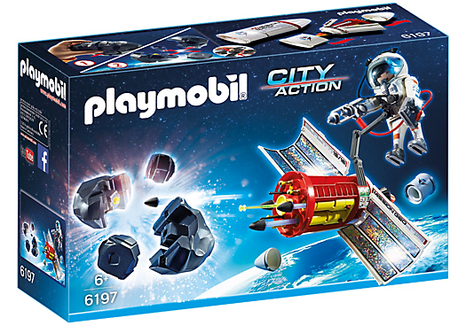 PLAYMOBIL Space Meteoroid Destroyer 6197