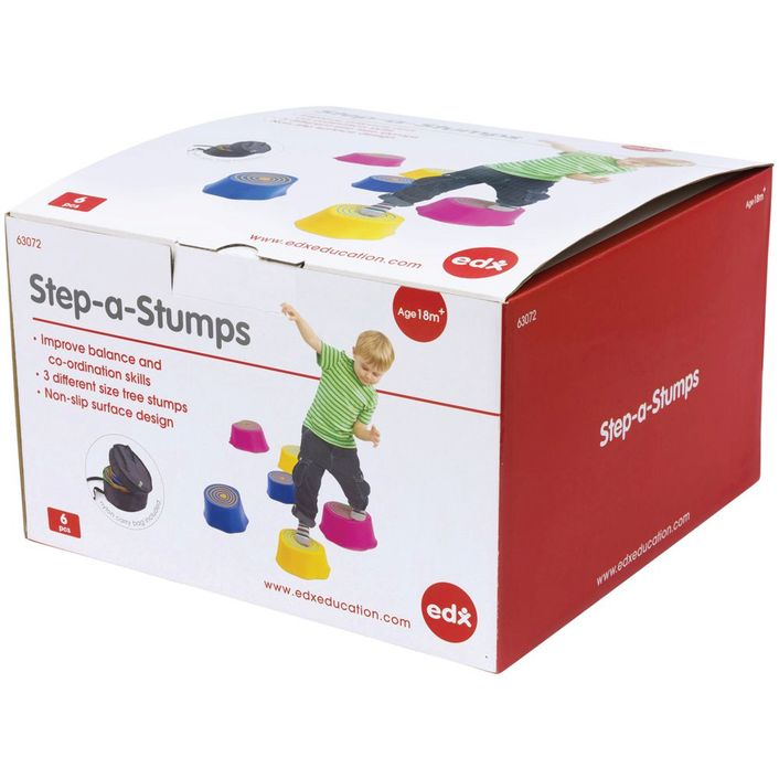 EDX Education - Step-a-Stumps Set of 6