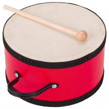 GOKI - Drum -Red with Wooden Stick - UC018