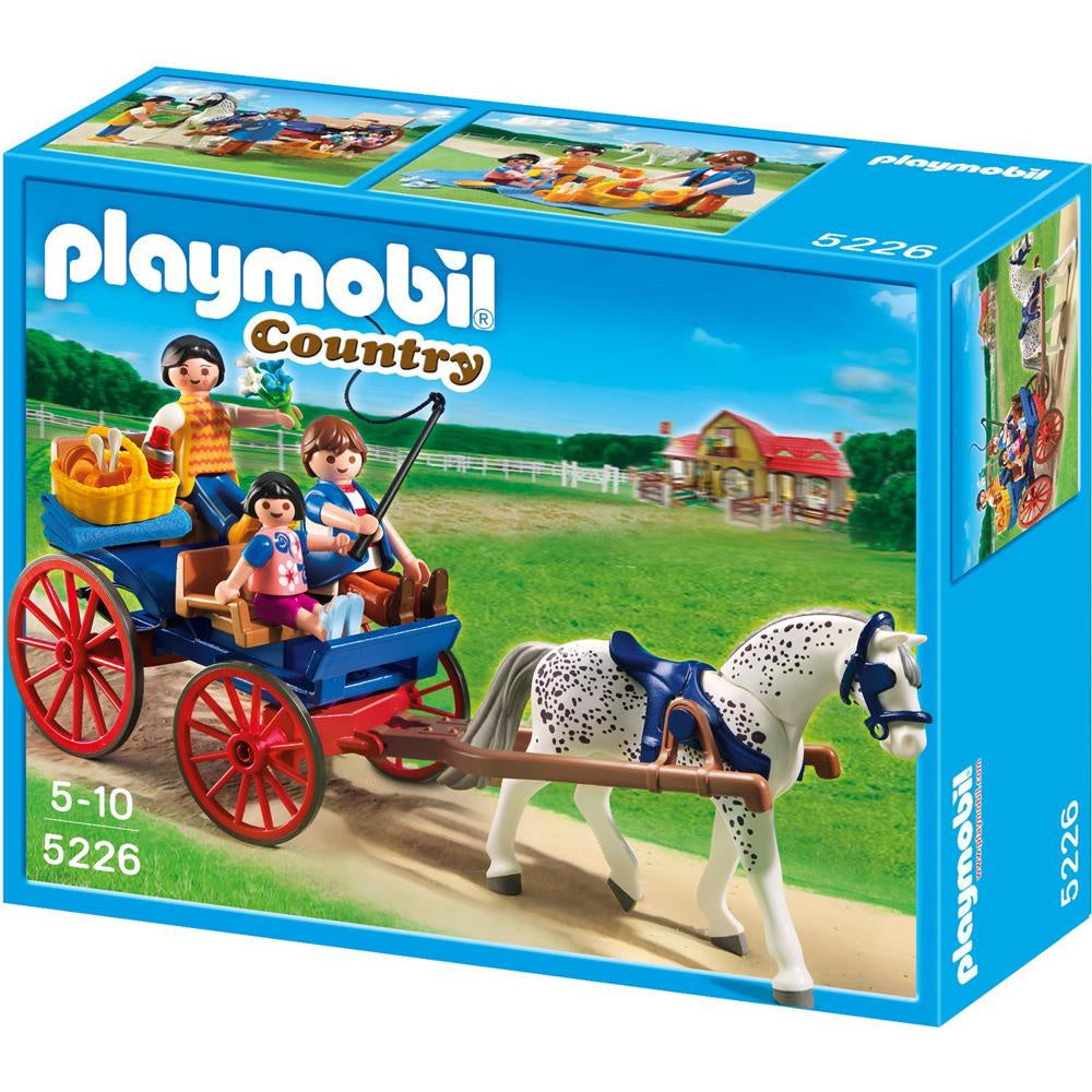PLAYMOBIL Country Horse Drawn Carriage 5226