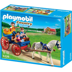PLAYMOBIL Country Horse Farm -Horse- Drawn Carriage 5226