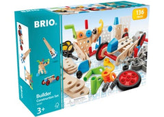 BRIO - Builder - Construction Set, 136 pieces