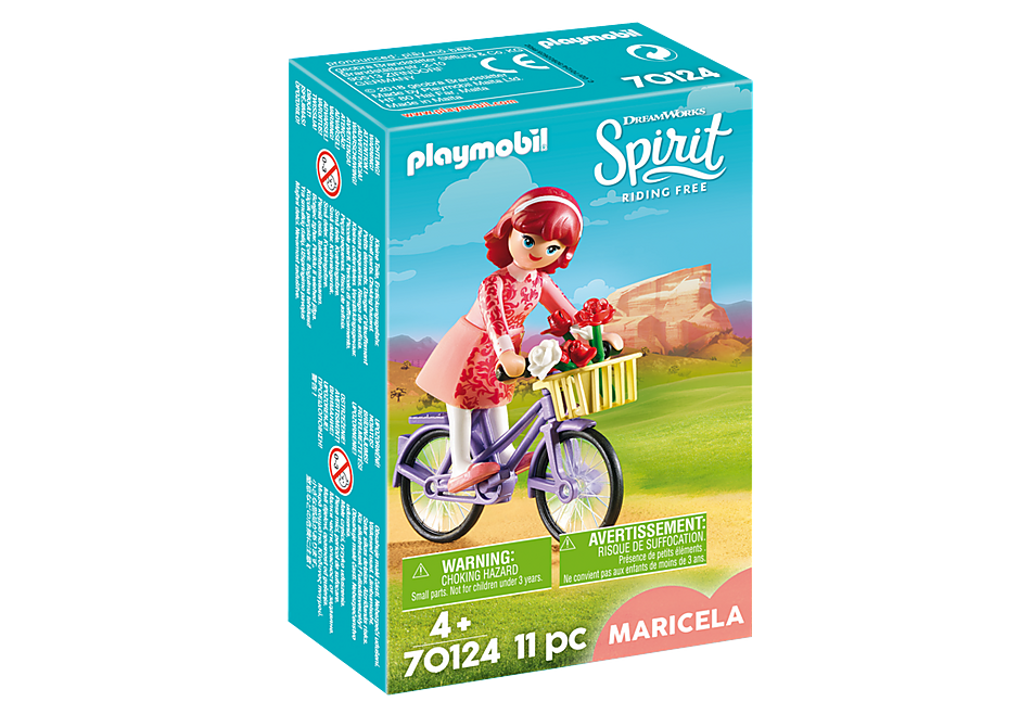 PLAYMOBIL SPIRIT Maricela with Bicycle 70124