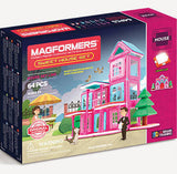 MAGFORMERS Sweet House Set 64 pc