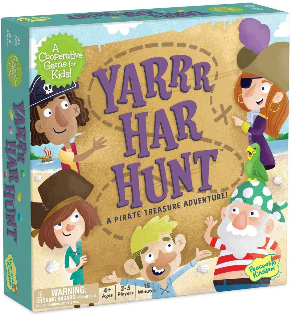 Peaceable Kingdom Game - Yarrr Har Hunt
